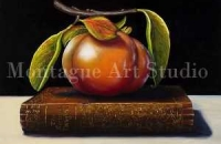 Persimmon on a Book